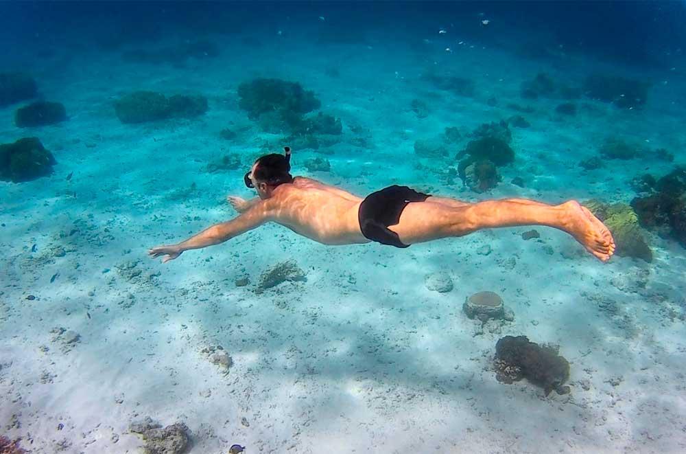 Buceando en Okinawa
