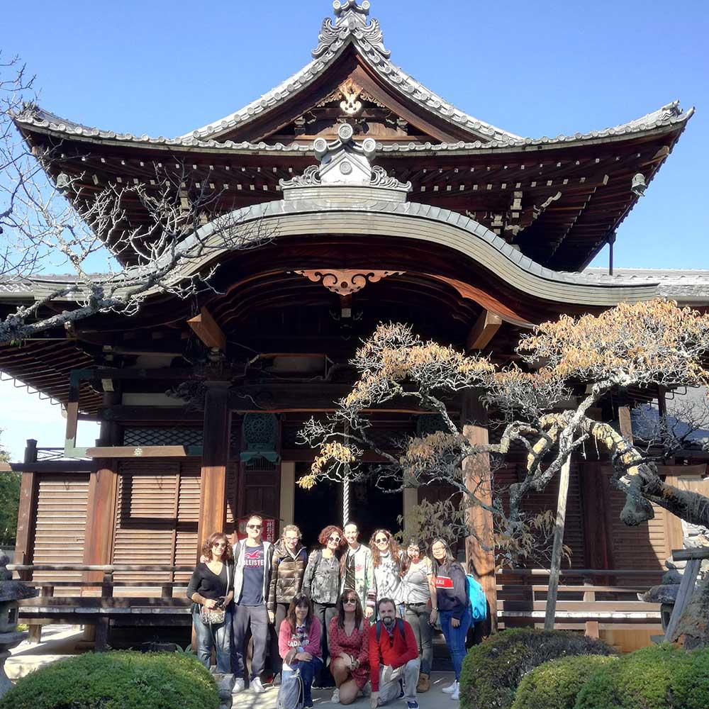 Uno de los grupos de Descubriendo Japón