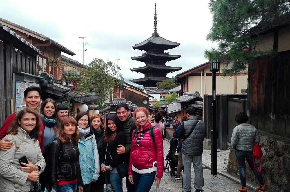 Grupo en HIgashiyama