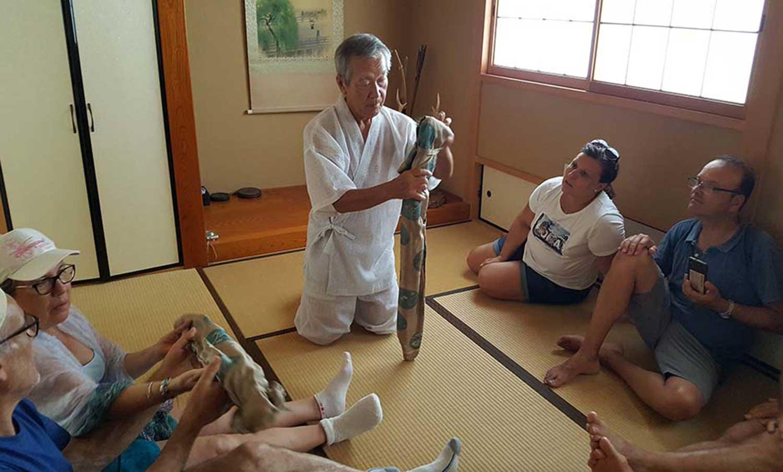 Demostración del Señor Tokuda
